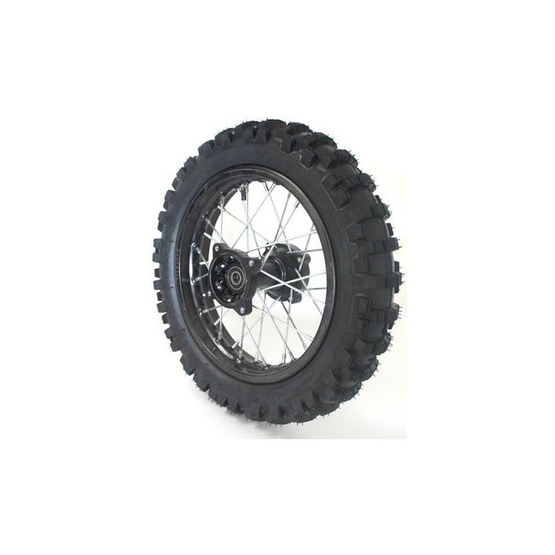 roue arri re complete 14 pouces axe 12mm quads motos familly pi ces quads 34. Black Bedroom Furniture Sets. Home Design Ideas