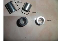 Entretoise de roue dirt 15mm