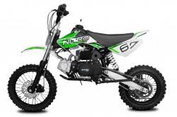 Dirt 110cc semi automatique Vert