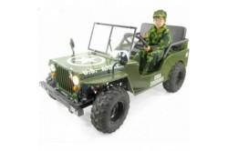 Jeep enfant 2 places sans amortisseurs