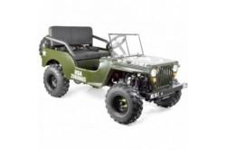 Jeep enfant 125cc 2 places avec amortisseurs
