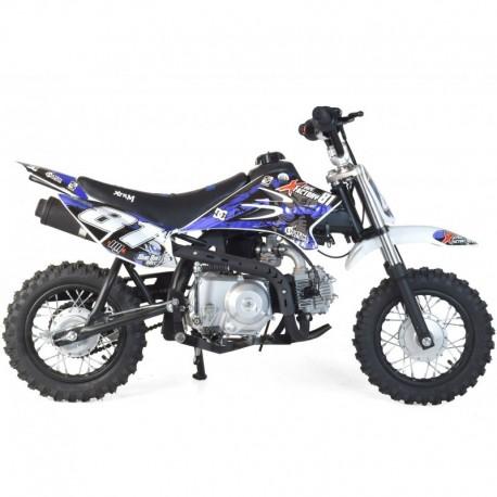 Moto dirt bike 90cc enfant semi-auto