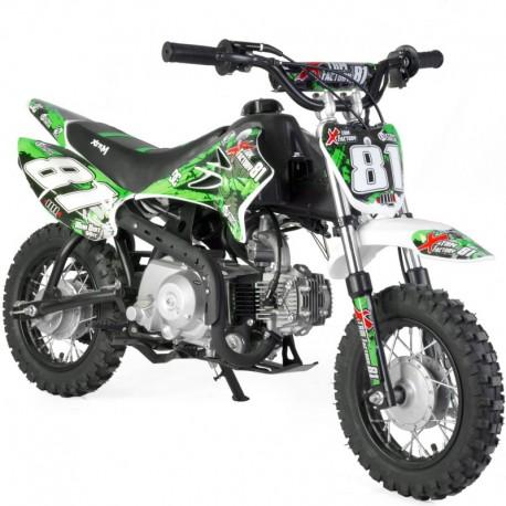 Moto dirt bike enfant 90cc 4T automatique