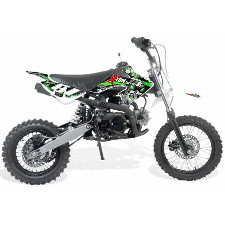Moto cross enfant automatique110cc 14/12 - Boite Auto 4T