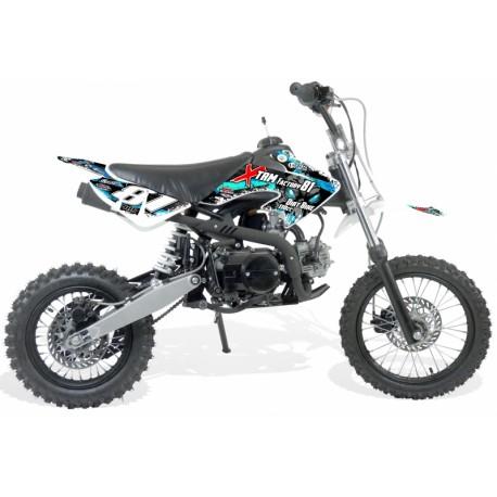Moto dirt bike enfant 110cc 14/12 - boite Semi-auto 4T