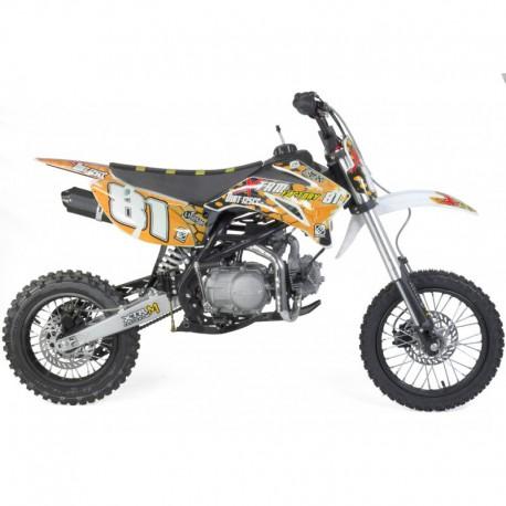 Dirt bike 125cc 14/12 moto cross enfant
