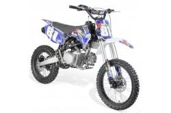 Moto dirt 140cc 4T 17/14 fourche inversée