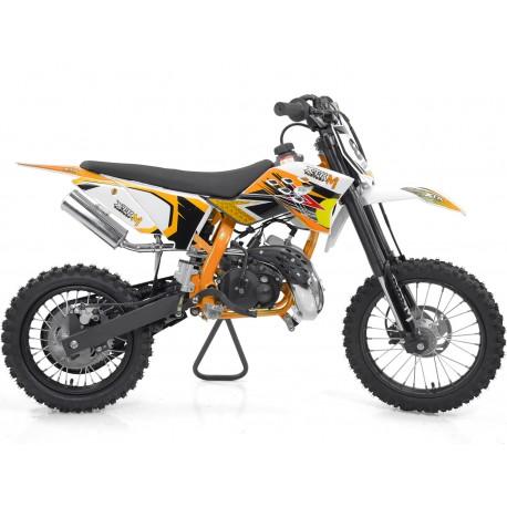 Moto cross enfant 50cc 9cv LUXE 2T 14/12