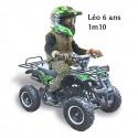 Pocket quad enfant mini bazou 50cc LUXE All Black
