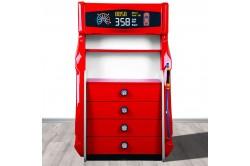 Commode enfant pompe à essence 4 tiroirs (MUS)
