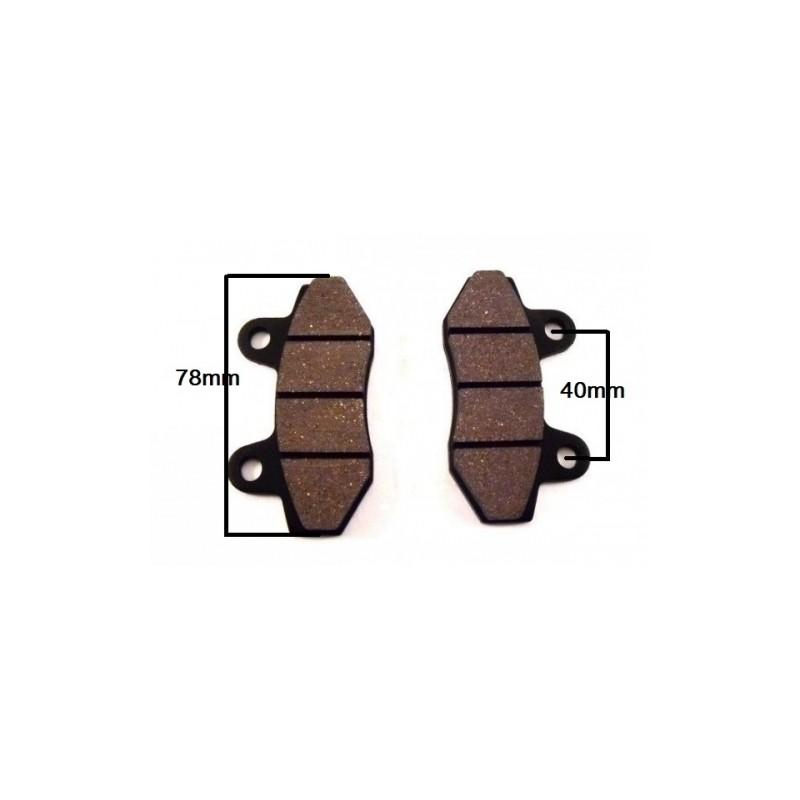 plaquette de frein double piston plaquette de frein scooter 50cc. Black Bedroom Furniture Sets. Home Design Ideas