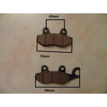 plaquette de frein arri re scooter plaquette de frein double piston plaquette de frein avec. Black Bedroom Furniture Sets. Home Design Ideas